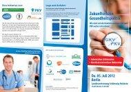 Zukunftvision Gesundheitspolitik - Flyer.pdf - Wissen-gesundheit.de