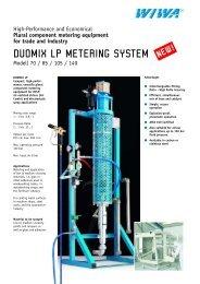 duomix lp metering system - WIWA Wilhelm Wagner GmbH & Co. Kg