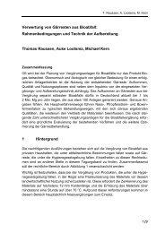 Verwertung von Gärresten aus Bioabfall: Rahmenbedingungen und ...