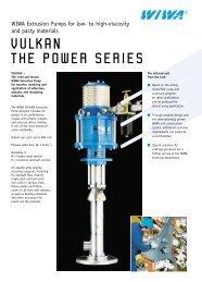 VULKAN THE POWER SERIES - WIWA Wilhelm Wagner GmbH ...