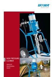 high pressure cleaner - WIWA Wilhelm Wagner GmbH & Co. Kg