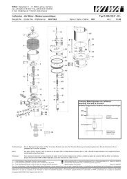 Luftmotor • Air Motor • Moteur pneumtique - WIWA Wilhelm Wagner ...