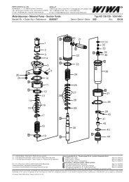 Materialpumpe • Material Pump • Section fluide - WIWA Wilhelm ...