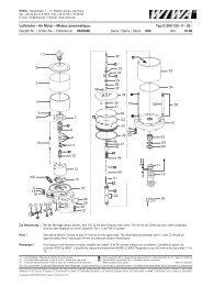 Luftmotor • Air Motor • Moteur pneumatique - WIWA Wilhelm Wagner ...