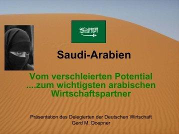 Gerd M. Doepner, Delegierter der Deutschen Wirtschaft ...