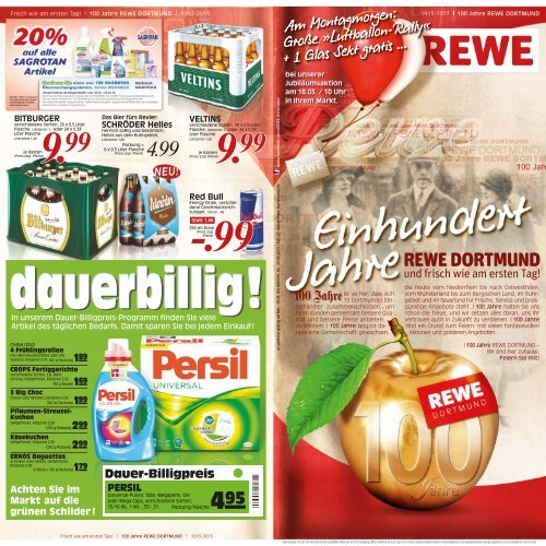 100 Jahre Rewe Dortmund Wk Warenhaus