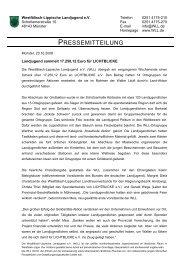 PRESSEMITTEILUNG - WLL