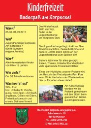 der Flyer als PDF zum Download - WLL