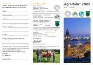 Flyer Agrarfahrt - WLL