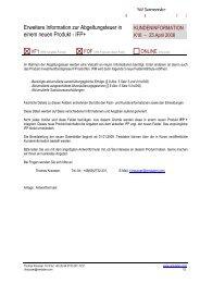 Info 2008-16-D neues Produkt IFP+ - WM Datenservice
