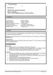 A.Problembereiche: WM Datenservice