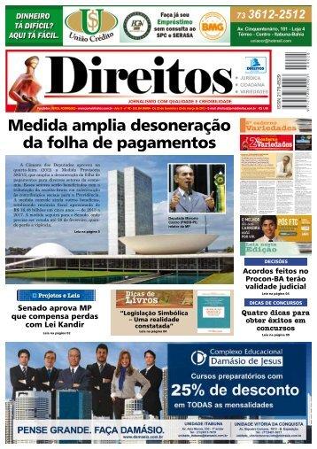 Medida amplia desoneração da folha de pagamentos - Jornal Direitos