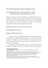 Título: Contadores de histórias: um diálogo entre ... - Intercom