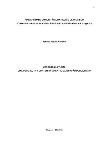 Baixar Documento - Chapecó - Unochapecó