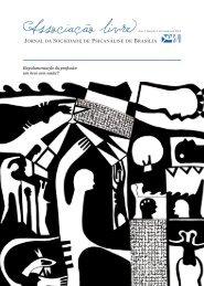 Jornal Associação Livre - Edição 1 - Sociedade de Psicanálise de ...