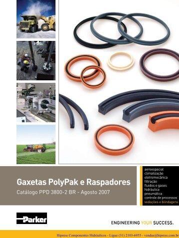 Gaxetas PolyPak e Raspadores - HIPRESS COMPONENTES ...
