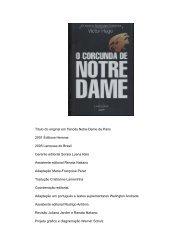 O Corcunda de Notre Dame – Victor Hugo