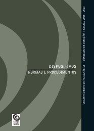 normas e procedimentos - Instituto Sedes Sapientiae