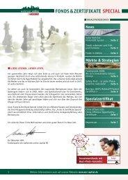 fonds & Zertifikate special - Wallstreet:online Capital AG