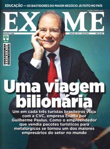 25/1/2012 - Revista Exame - Em Vez de - Siqueira Castro - Advogados