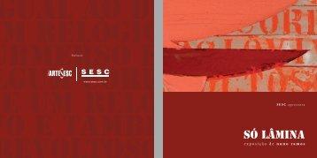 Catálogo Só Lâmina - Sesc
