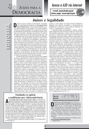 Jornal 29 JULHO - SETEMBRO 2002 - AJD