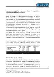 Pressemitteilung (PDF 24 KB) - Wallstreet:online Capital AG