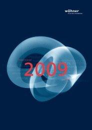 Product manual 2009English - Wöhner