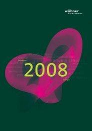 Catalogue 2008Français - Wöhner