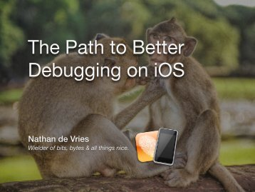 The Path to Better Debugging on iOS