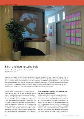Farb- und Raumpsychologie - Feng Shui Architektur Köln