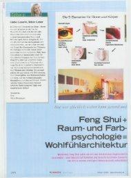 Holz - Feng Shui Architektur Köln