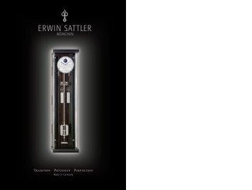 Katalog - Erwin Sattler