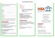 Anmeldung zum Seminar - Bundesverband für Wohnungslüftung  eV