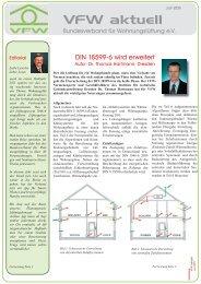 VFW aktuell - Bundesverband für Wohnungslüftung  eV