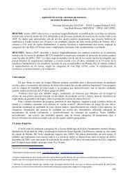 Aquisição da escrita: estrutura da narrativa em textos de aluno da EJA