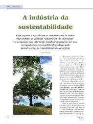 A indústria da sustentabilidade - Engarrafador Moderno