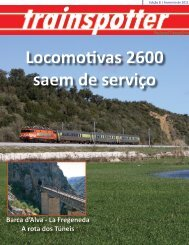 Locomotivas 2600 saem de serviço - Portugal Ferroviário