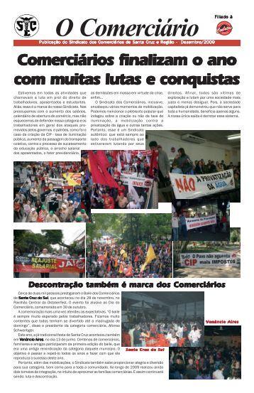 O Comerciário - Sindicato dos Comerciários de Santa Cruz do Sul