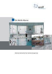 Die Weiße Wanne - Roland Wolf GmbH