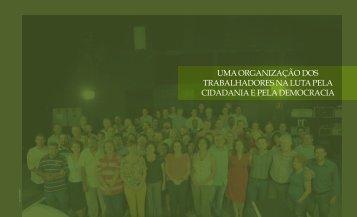 uma organização dos trabalhadores na luta pela cidadania