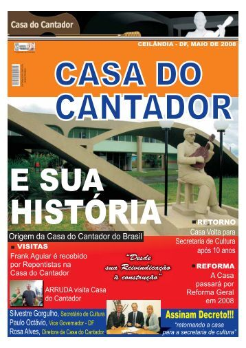 Revista Casa do Cantador - Nasa Eventos