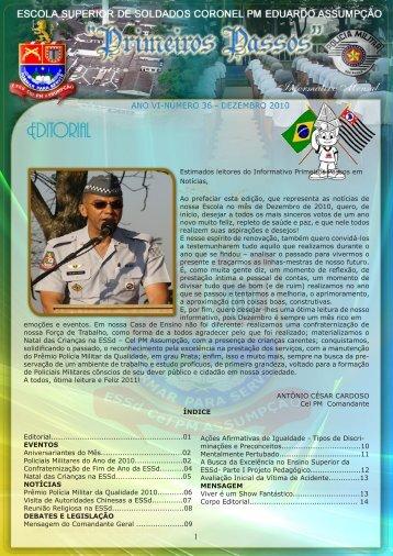 Dezembro - Polícia Militar do Estado de São Paulo