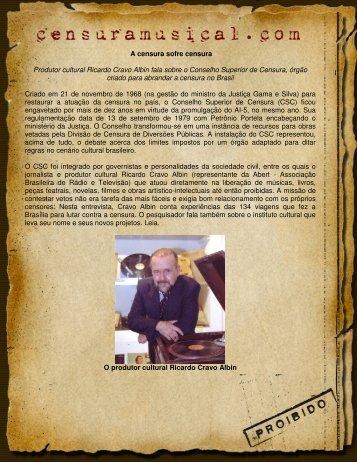 Entrevista_-_Ricardo.. - Censura Musical