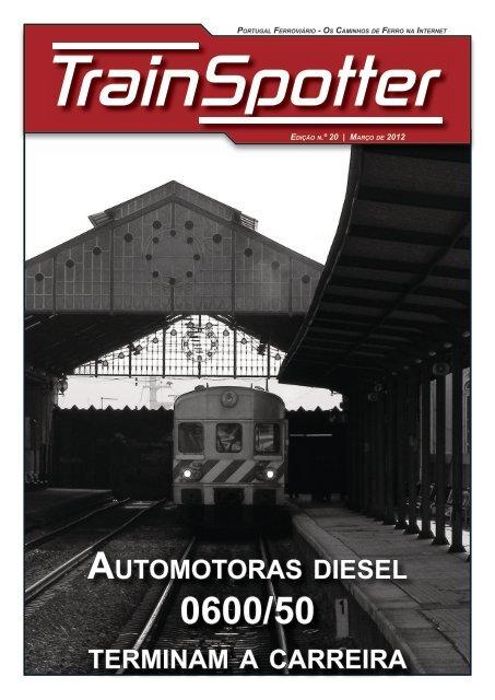 automotoras diesel terminam a carreira - Portugal Ferroviário