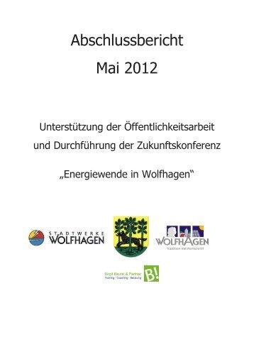 Abschlussbericht Mai 2012 - Stadt Wolfhagen