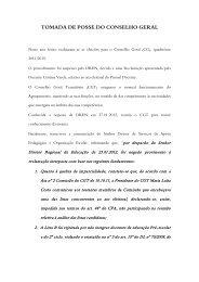 Informação sobre o processo de eleiçao - Agrupamento de Escolas ...