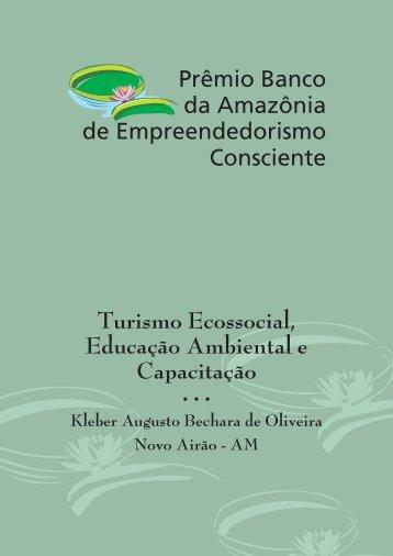 Turismo Ecossocial, Educação Ambiental e Capacitação - Banco da ...
