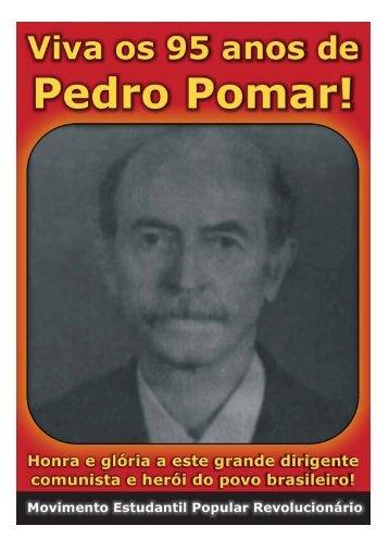 Viva o grande dirigente comunista Pedro Pomar! - MEPR
