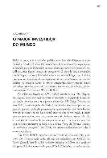 O MAIOR INVESTIDOR DO MUNDO - clicRBS